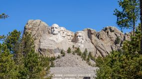 Mount Rushmore Monument royalty free stock image