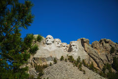 Mount Rushmore monument i South Dakota fotografering för bildbyråer