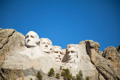 Mount Rushmore monument in South Dakota Royalty Free Stock Photos
