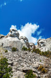 Mount Rushmore monument in South Dakota Royalty Free Stock Images
