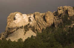 Mount Rushmore morning. Mount Rushmore in the early morning light Stock Photos