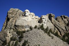 Mount Rushmore National Memorial Royalty Free Stock Image