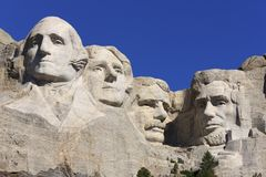Mount Rushmore National Memorial Stock Image