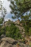 Mount Rushmore, Black Hills South Dakota Stock Photos