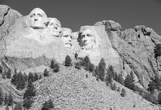 Mount Rushmore National Memorial, Black Hills, South Dakota, USA Stock Images