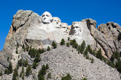 Mount Rushmore National Memorial. Is located in southwest South Dakota, USA Royalty Free Stock Image