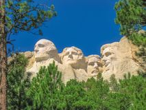 Mount Rushmore South Dakota stock photography