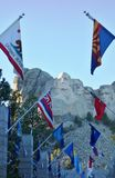 The Mount Rushmore National Memorial in South Dakota Stock Image