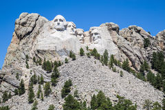 Mount Rushmore National Memorial, South Dakota, USA. Royalty Free Stock Photo