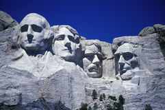 Mount rushmore national monumen Royalty Free Stock Photos