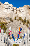 Mount Rushmore National Monument in South Dakota. Summer day royalty free stock images