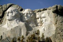 Mount Rushmore National Monumet, The Black Hills, South Dakota. Mount Rushmore National Monument, South Dakota, Created by sculptor Gutzon Borglum showing Royalty Free Stock Photo
