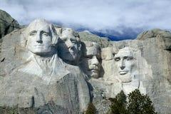 Mount Rushmore National Monumet, The Black Hills, South Dakota. Mount Rushmore National Monument, South Dakota, Created by sculptor Gutzon Borglum showing Royalty Free Stock Image