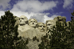 Mount Rushmore National Park Presidents Stock Photography