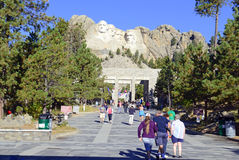 Mount Rushmore nationell minnesmärke, Black Hills, South Dakota, USA Royaltyfri Fotografi
