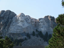 Mount Rushmore nationell minnesmärke, slutsten, SD Royaltyfri Fotografi