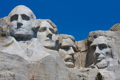 Mount Rushmore President's Heads Stock Photography