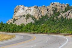 Mount Rushmore presidenter Arkivfoto
