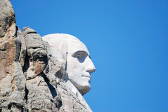 Mount Rushmore Profile Royalty Free Stock Images