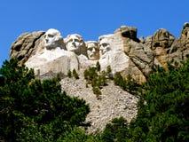 Mount Rushmore South Dakota fotografering för bildbyråer