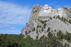 Mount Rushmore 4 South Dakota Royaltyfria Foton