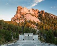 Mount Rushmore Sunrise Landscape and Amphitheater Stock Photography