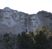 Mount Rushmore At Twilight Royalty Free Stock Image