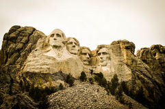 Mount Rushmore. A view of Mount Rushmore Royalty Free Stock Photography