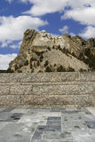 Mount Rushmore from walkway. royalty free stock images