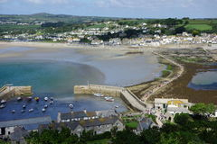 Mount's Bay, Marazion Royalty Free Stock Photography