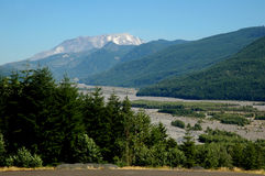 Mount saint Helen landscape Stock Photo