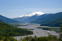 Mount Saint Helens stockfotos
