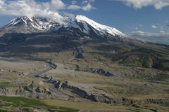 Mount Saint Helens Crater Stock Image