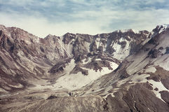Mount Saint Helens in 1997 Stock Photos