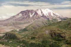 Mount Saint Helens i 1997 Royaltyfri Fotografi