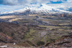 Mount Saint Helens i Washington USA Royaltyfri Fotografi
