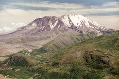Mount Saint Helens in 1997 Royalty Free Stock Photography