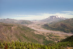 Mount Saint Helens in 1997 Royalty Free Stock Photo