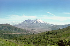 Mount Saint Helens in 1997 Stock Images