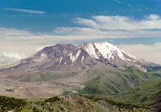 Mount Saint Helens in 1997 Royalty Free Stock Photos