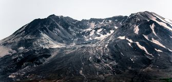 Mount Saint Helens queimou Lava Done soprado imagens de stock royalty free