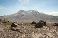 Mount Saint Helens royalty free stock image