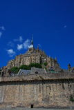 Mount Saint Michael Castle Royalty Free Stock Images