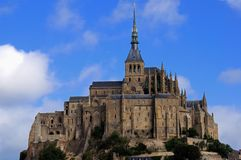 Mount saint Michel Royalty Free Stock Images