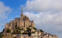 Mount Saint Michel. In Britanny, North west of France Stock Photo