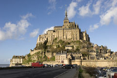 The mount Saint-Michel Abbey Royalty Free Stock Photo