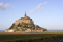 The mount Saint-Michel Abbey Stock Photo