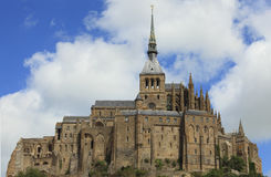 Mount Saint Michel-detail royalty free stock photos