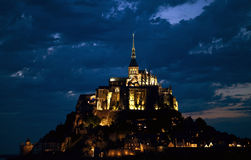 Mount saint michel Royalty Free Stock Photo