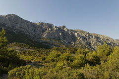 Mount Sainte Victoire Royalty Free Stock Image